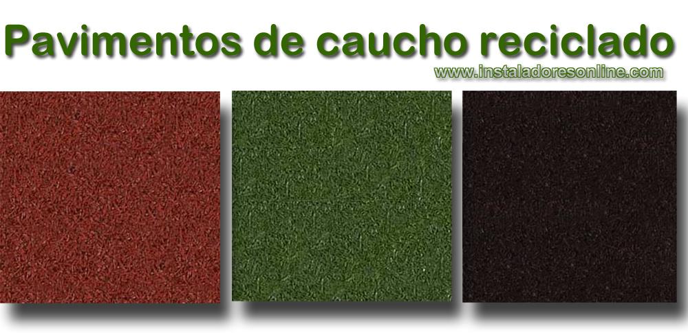Baldosas de caucho reciclado precios materiales de for Precio de baldosas para patio