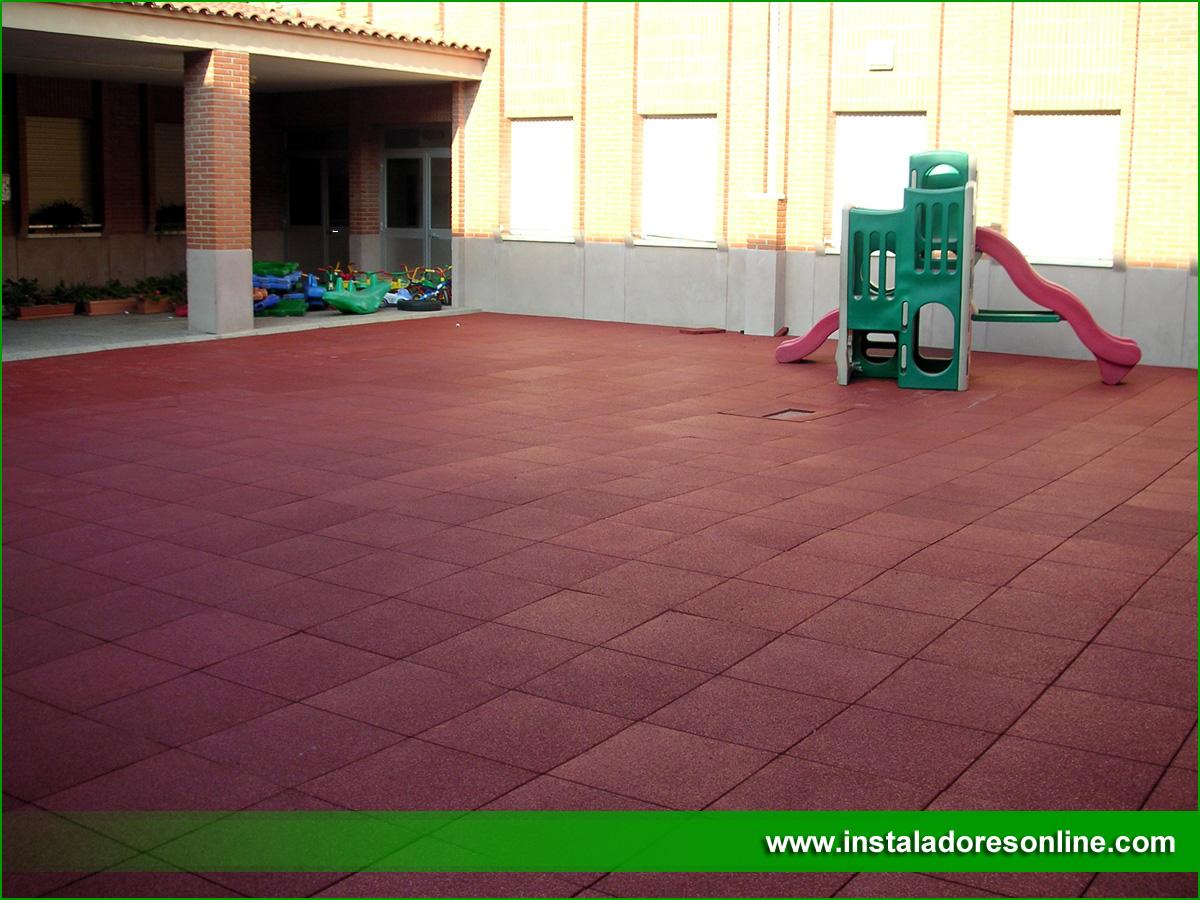 Pavimentos de caucho reciclado pavimentos para parques - Suelos de caucho para exteriores ...