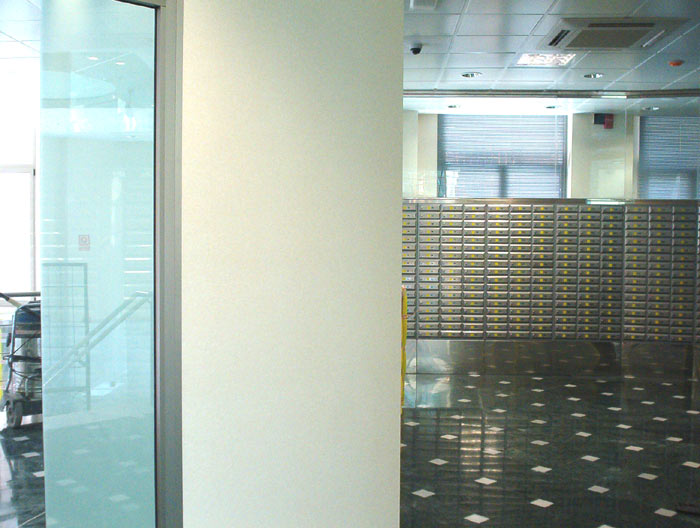 Vescom revestimientos murales obras de referencia for Oficina correos murcia